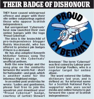 Cybernat - Online Abuse - Trolling