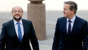 David Cameron - Martin Schulz - 2
