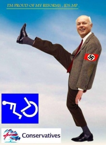 Iain Duncan Smith - Tory Scum - Conservative Party - Nazis
