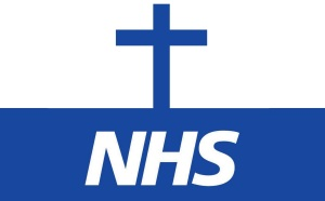 NHS Logo - Cross - National Religion - Worship - Idolatry