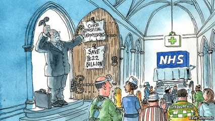 NHS - National Religion - Cartoon