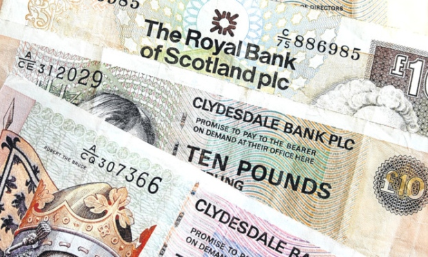 Scottish Bank Notes - Scotland Tax Rates