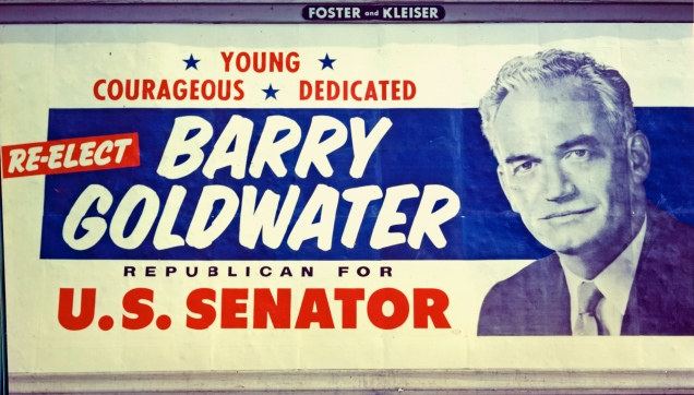Barry Goldwater - Election Poster