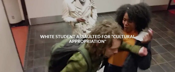 Bonita Tindle - Assault White Student for Cultural Appropriation - Identity Politics