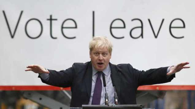 Boris Johnson - Vote Leave - European Union - EU Referendum