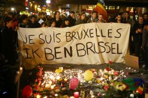 Brussels Attacks - Je Suis Bruxelles