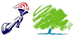 Conservative Party Logo - Torch Liberty - Tree