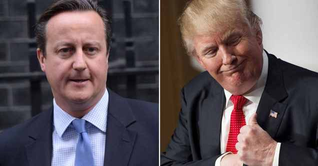 David Cameron - Donald Trump - Conservatism - Conservative Party - Republican - GOP - Ideology - Security