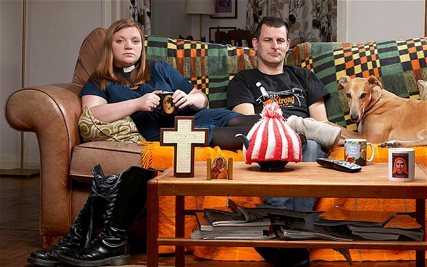 Kate Bottley - Gogglebox - Church of England - Partisan - Conservative Party - Tory Scum