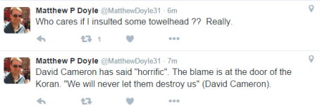 Matthew Doyle tweet - 2