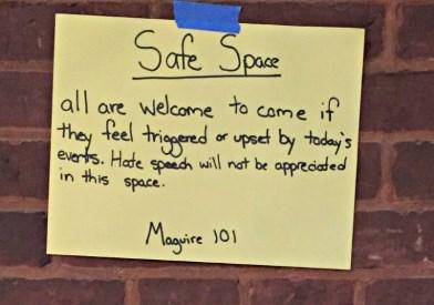Safe Space Notice - 1