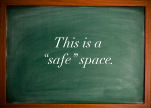 Safe Space Notice - 2