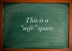 Safe Space Notice - 2