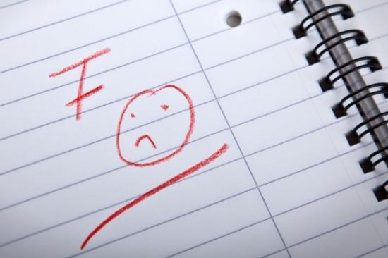 School - Marking - Grading - Red Ink - Infantilised - 2