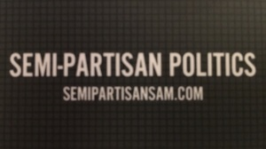 Semi Partisan Politics Logo