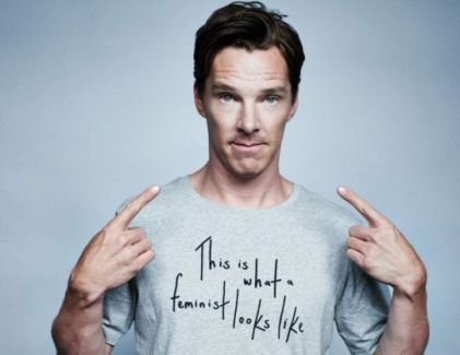 Benedict Cumberbatch - This Is What A Feminist Looks Like - Virtue Signalling