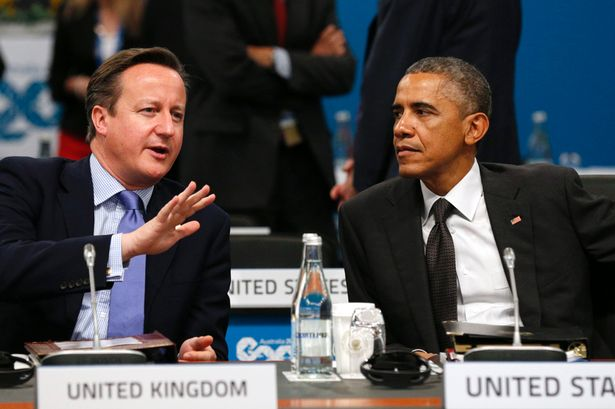 David Cameron - Barack Obama. President Barack Obama - 2