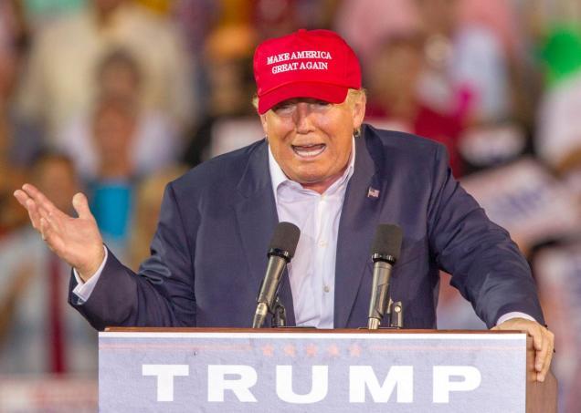 Donald Trump - school