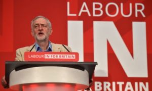 Jeremy Corbyn - Labour In For Britain - EU Referendum - Brexit