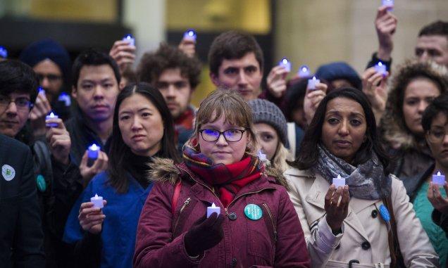 Junior Doctors Strike - NHS - National Health Service - Vigil