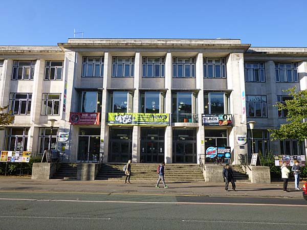 Manchester University Students Union building