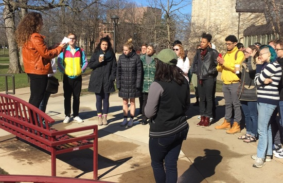 St Olaf College Protest - Safe Space Policy