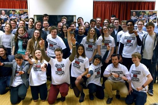 Students for Europe - EU Referendum - Brexit - European Union