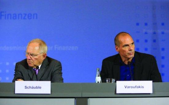 Wolfgang Schaeuble - Yanis Varoufakis - 3
