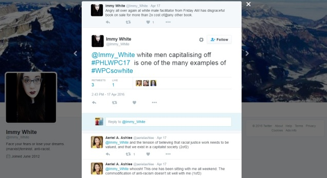 WPC2016 twitter anger