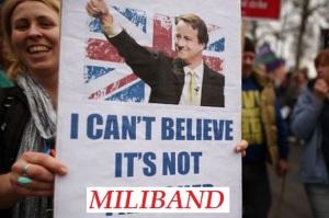 David Cameron - Coke Zero Conservative - I Cant Believe Its Not Miliband