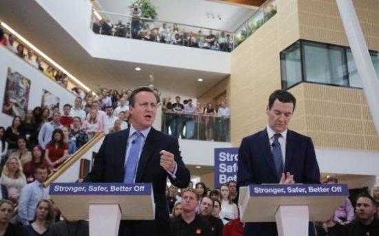 David Cameron - George Osborne - EU Referendum - Brexit - Remain - Stronger Safer Better Off