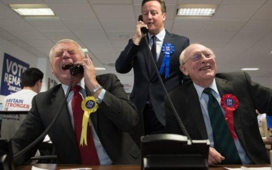 David Cameron - Neil Kinnock - Paddy Ashdown - Stronger In - EU Referendum - Brexit
