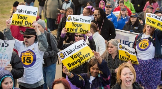 Fight for 15 - Care Workers