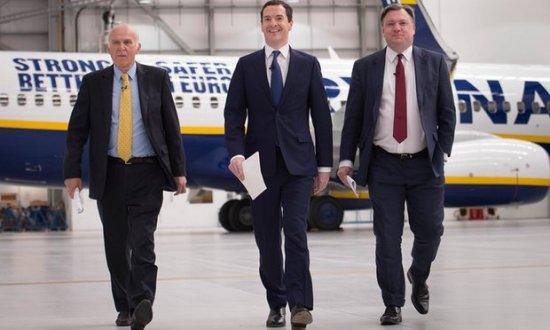 George Osborne - Ed Balls - Vince Cable - RyanAir - Brexit - EU Referendum - Establishment - Coke Zero Conservatism