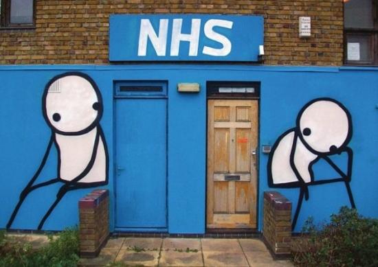 NHS worship - Stik - National Religion