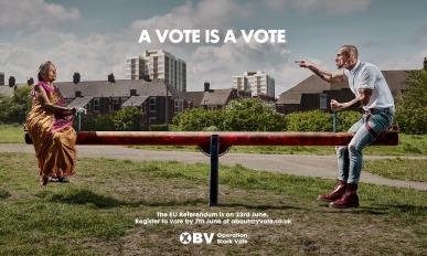 Operation Black Vote - OBV - A vote is a vote - EU Referendum - European Union