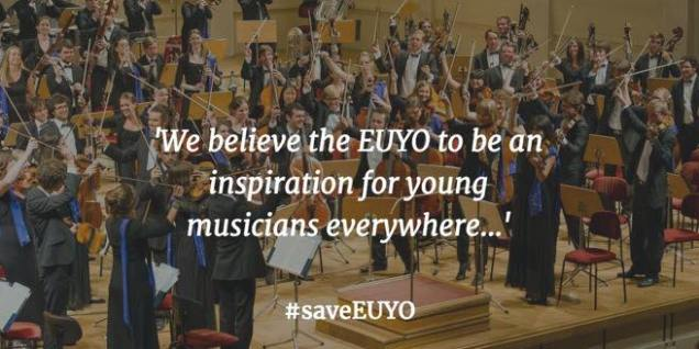 Save EUYO - European Union Youth Orchestra - Propaganda