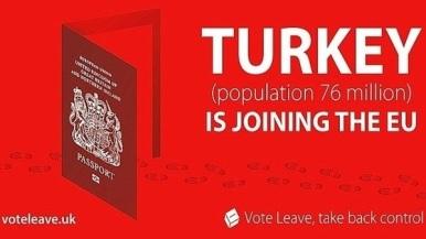 Vote Leave - Turkey Joining EU