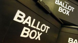 By election - ballot box - Democracy