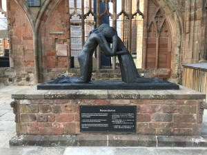 Coventry Cathedral - Sculpture of Reconciliation