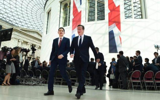David Cameron - David Miliband - British Museum - EU Referendum - Brexit - European Union - Patriotism