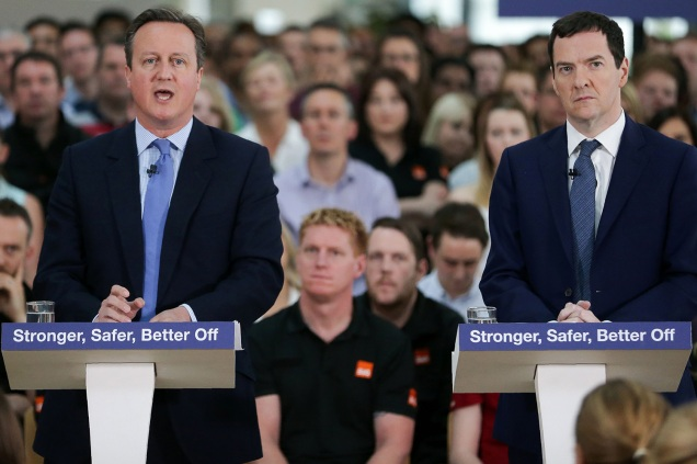 David Cameron - George Osborne - EU Referendum - Brexit - European Union - Democracy