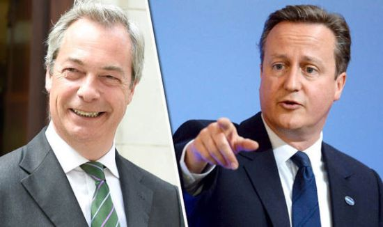David Cameron - Nigel Farage - Debate - ITV - EU Referendum - Brexit - Remain