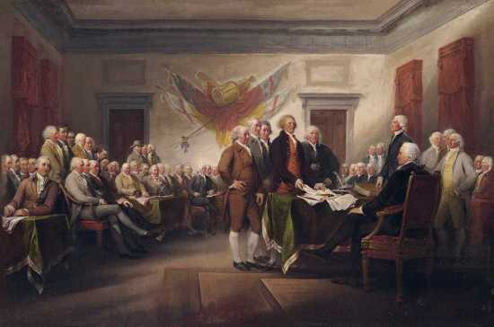 Declaration of Independence - United States of America - Founding Fathers - Brexit
