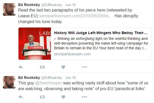 Ed Rooksby - Twitter Mob - Jo Cox