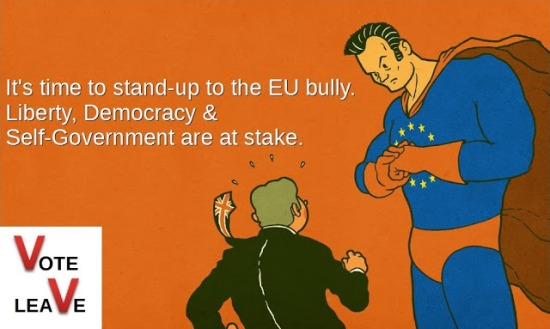 EU bully stand-up