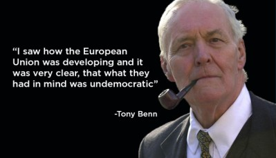 European Union - EU Referendum - Tony Benn - Brexit