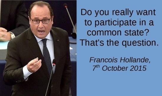 Francois Hollande - Common State - European Union - EU Referendum - Brexit