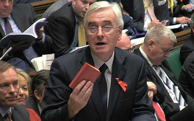 John McDonnell - Little Red Book - Tory Brexit