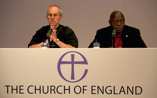 Justin Welby - John Sentamu - Archbishops - Church of England - EU Referendum - European Union - Brexit - Remain